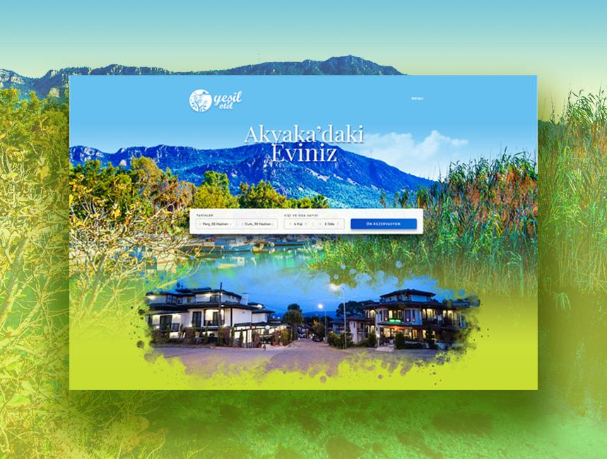 Akyaka Yeşil Otel |Sıradışı Digital