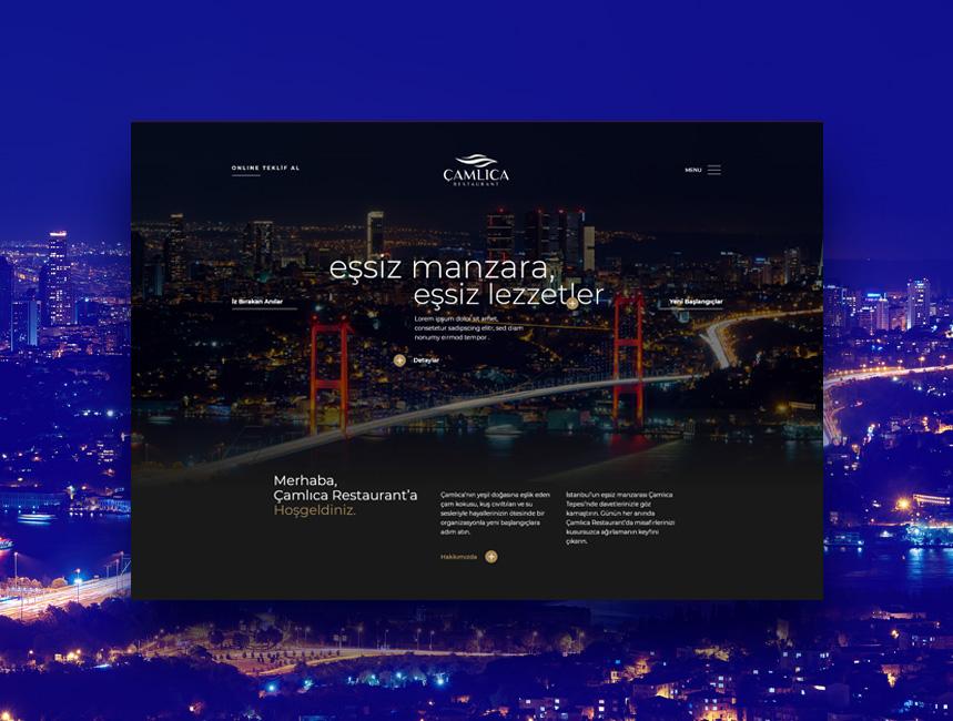 Çamlıca Restaurant |Sıradışı Digital